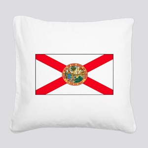 Floridablank Square Canvas Pillow