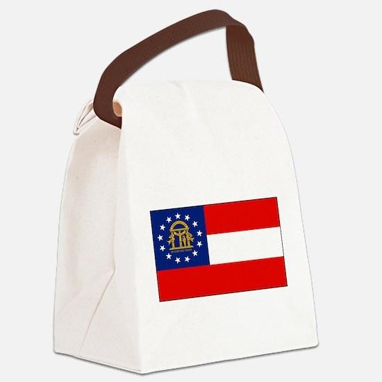 Georgiablank.png Canvas Lunch Bag