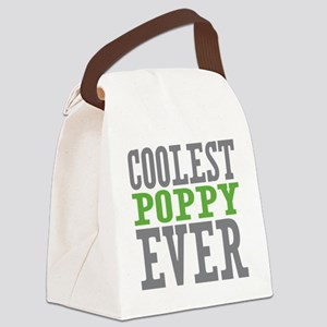 Coolest Poppy Canvas Lunch Bag
