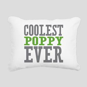Coolest Poppy Rectangular Canvas Pillow