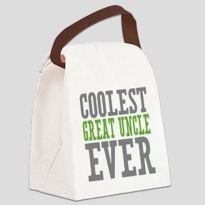 Coolest Great Uncle Canvas Lunch Bag