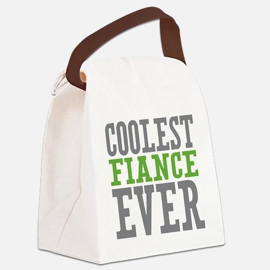 Coolest Fiance Canvas Lunch Bag