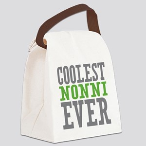 Coolest Nonni Canvas Lunch Bag