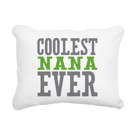Coolest Nana Rectangular Canvas Pillow