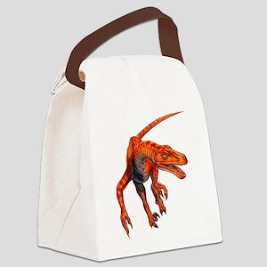 Velociraptor Canvas Lunch Bag