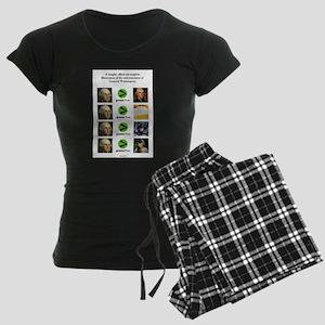 Awesome Matrix #1 Women's Dark Pajamas
