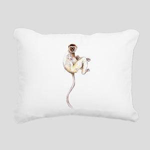 VerreauxSifaka Rectangular Canvas Pillow