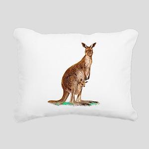WesternGrayKangaroo Rectangular Canvas Pillow
