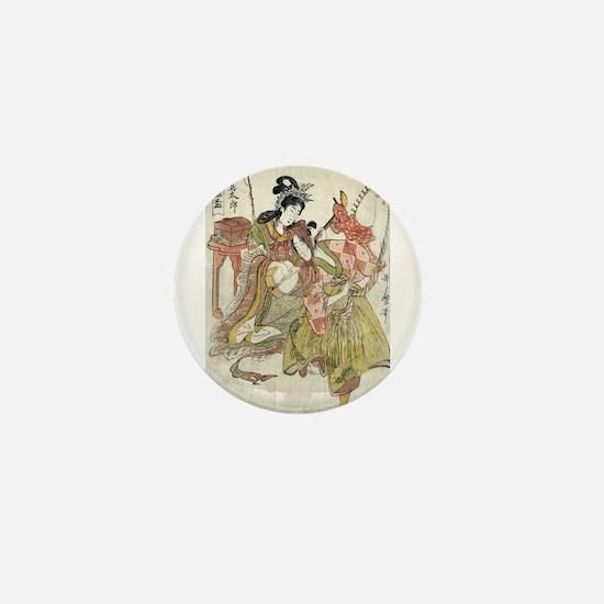 Urashimataro - Utamaro Kitagawa - 1804 Mini Button