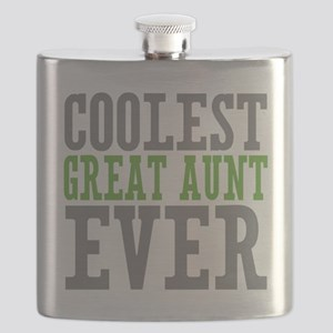 Coolest Great Aunt Flask