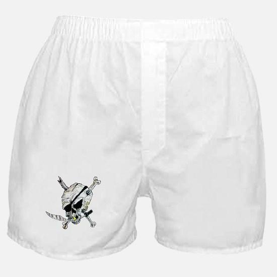 Original Skull Pirate design Boxer Shorts