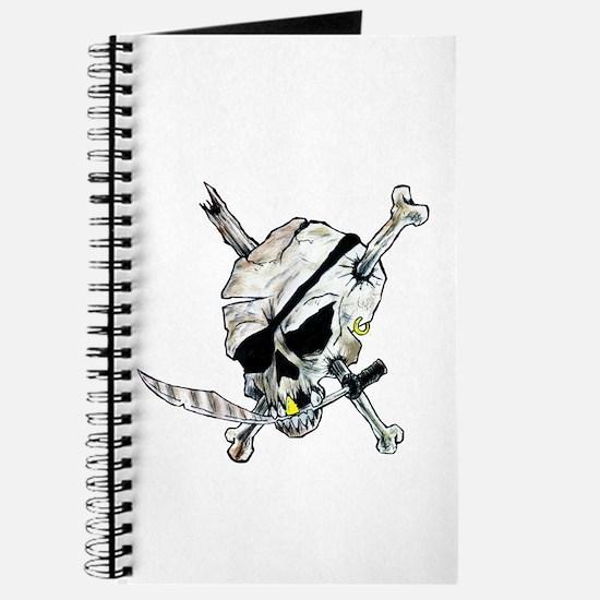 Original Skull Pirate design Journal