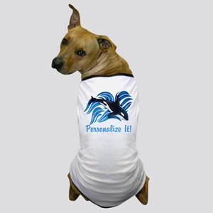 PERSONALIZED Ocean Orca Dog T-Shirt