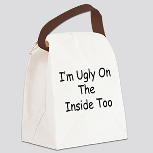Ugly Canvas Lunch Bag