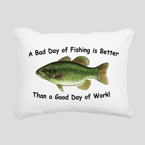 Fishingday Rectangular Canvas Pillow
