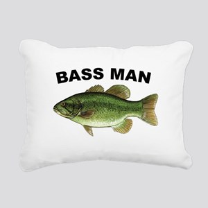 Bassman Rectangular Canvas Pillow