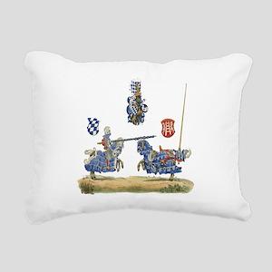 Knights1 Rectangular Canvas Pillow