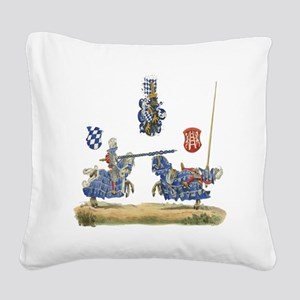 Knights1 Square Canvas Pillow