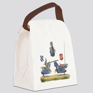 Knights1 Canvas Lunch Bag