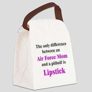 AirForceMom Canvas Lunch Bag