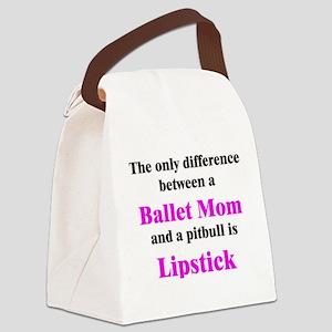 2-BalletMom Canvas Lunch Bag