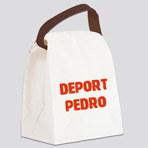 DeportPedrored Canvas Lunch Bag