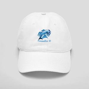 PERSONALIZED Ocean Dolphin Baseball Cap 918216622ab4