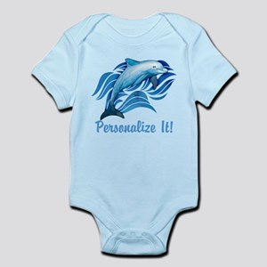 PERSONALIZED Ocean Dolphin Body Suit