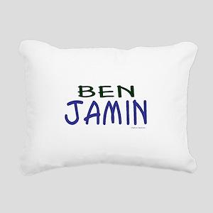 Benjamin Rectangular Canvas Pillow