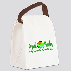 Support Organic Farming Canvas Lunch Bag