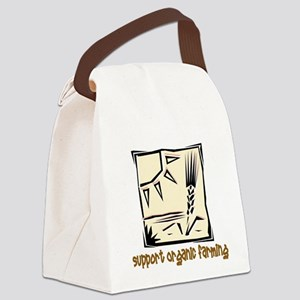 Organic Farming Square Canvas Lunch Bag