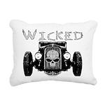 3-Wicked Rectangular Canvas Pillow