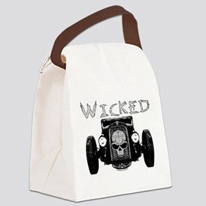 3-Wicked Canvas Lunch Bag
