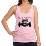 3-Wicked Racerback Tank Top
