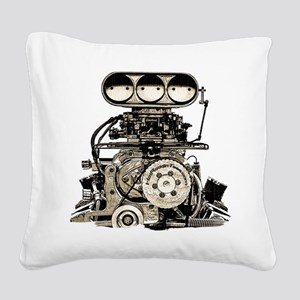 blower11 Square Canvas Pillow