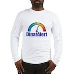 Long Sleeve T-Shirt - DinarAlert w/meter
