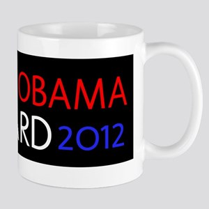 BARACK OBAMA 2012 FORWARD PEACE Mug