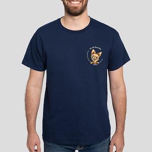 Pocket LH Chi IAAM Dark T-Shirt