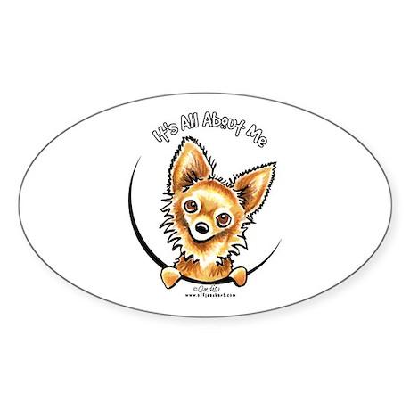 LH Chihuahua IAAM Sticker (Oval)