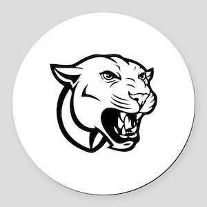 Cougar bait Round Car Magnet