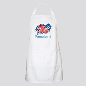 PERSONALIZED Ocean Octopus Light Apron