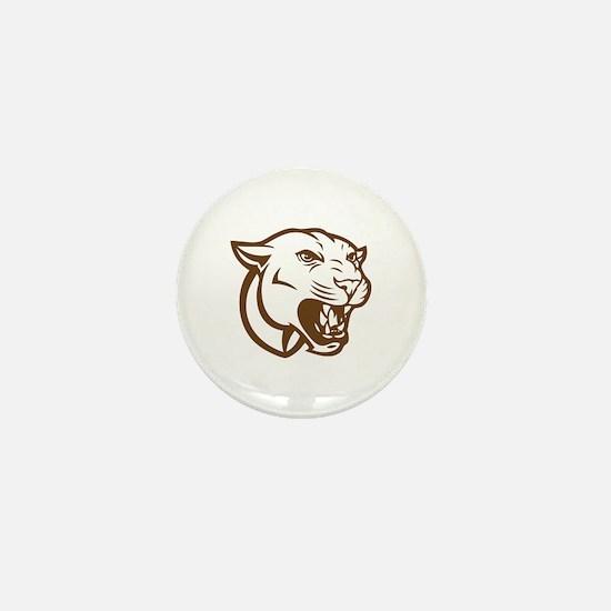 Cougar Mini Button