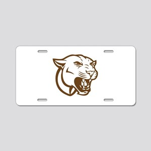 Cougar Aluminum License Plate