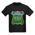 USS MADDOX Kids Dark T-Shirt