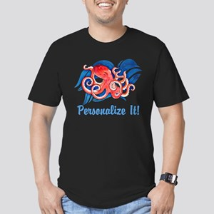 PERSONALIZED Ocean Octopus T-Shirt