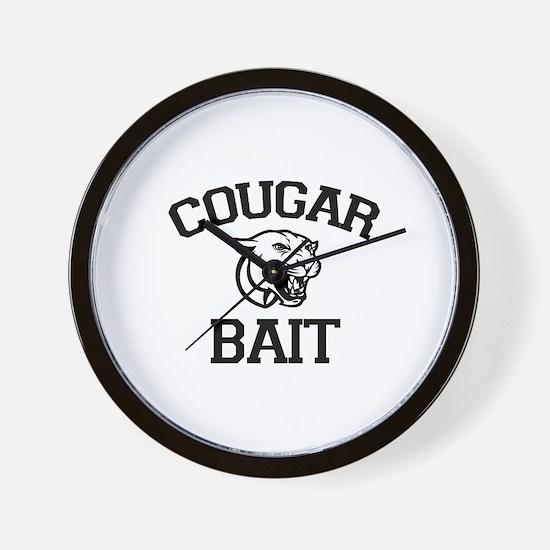 Cougar Bait Wall Clock