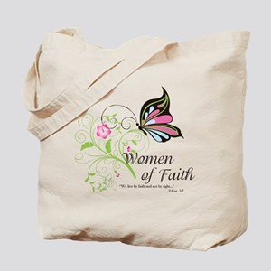 WOF Butterfly Tote Bag