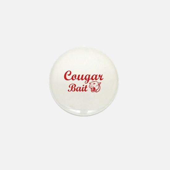 Cougar Bait Mini Button