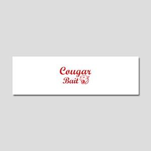Cougar Bait Car Magnet 10 x 3