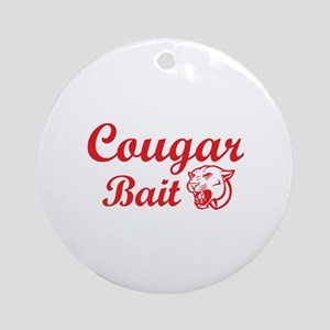 Cougar Bait Ornament (Round)